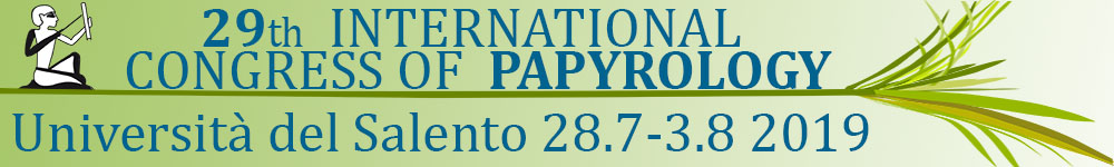 29th International Congress of Papyrology